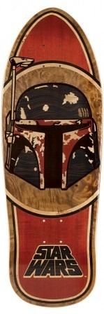 Santa Cruz Santa Cruz Star Wars Boba Fett Inlay Deck - 10.3