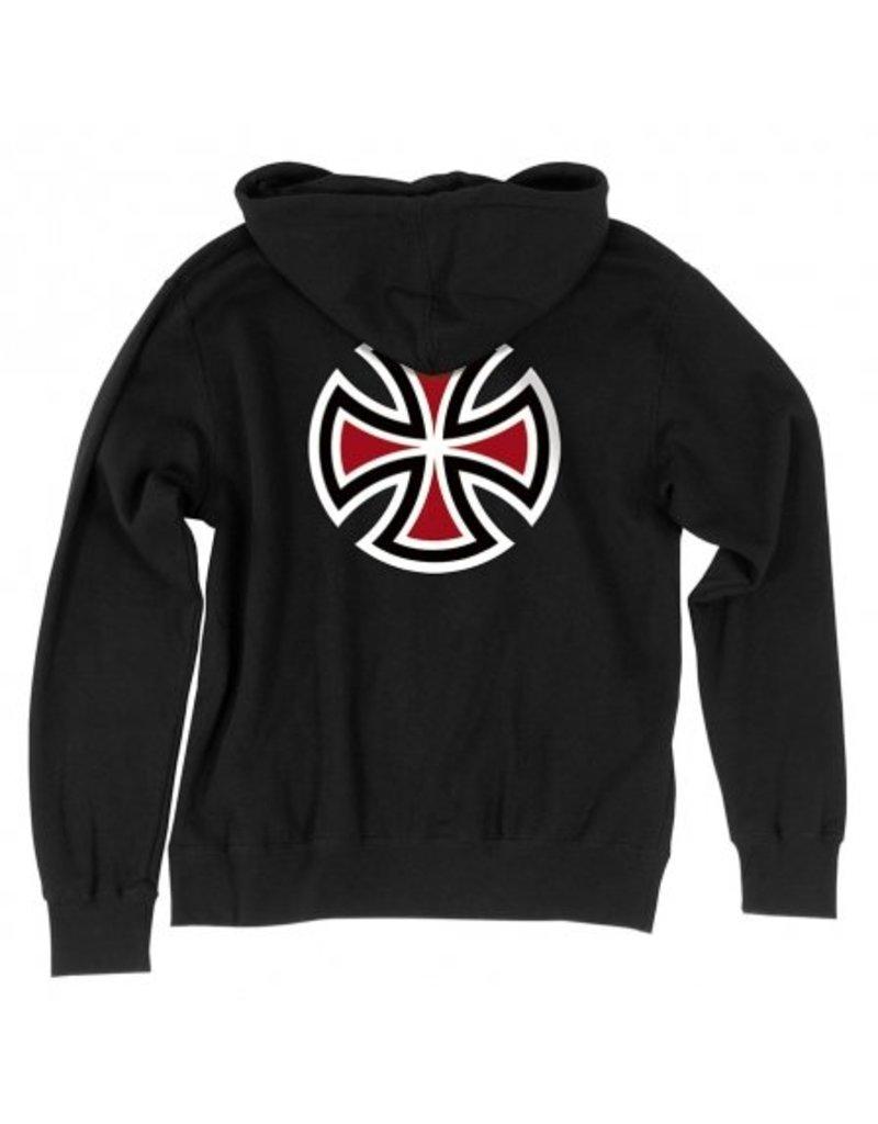 Independent Independent  Bar/Cross  Pullover Hoodie - Black