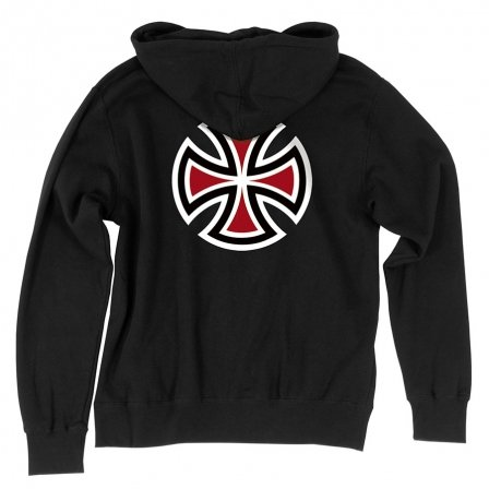 Independent Independent  Bar/Cross  Pullover Hoodie - Black