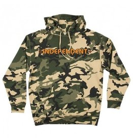 Independent Independent  Bar/Cross  Pullover Hoodie - Camo/Orange