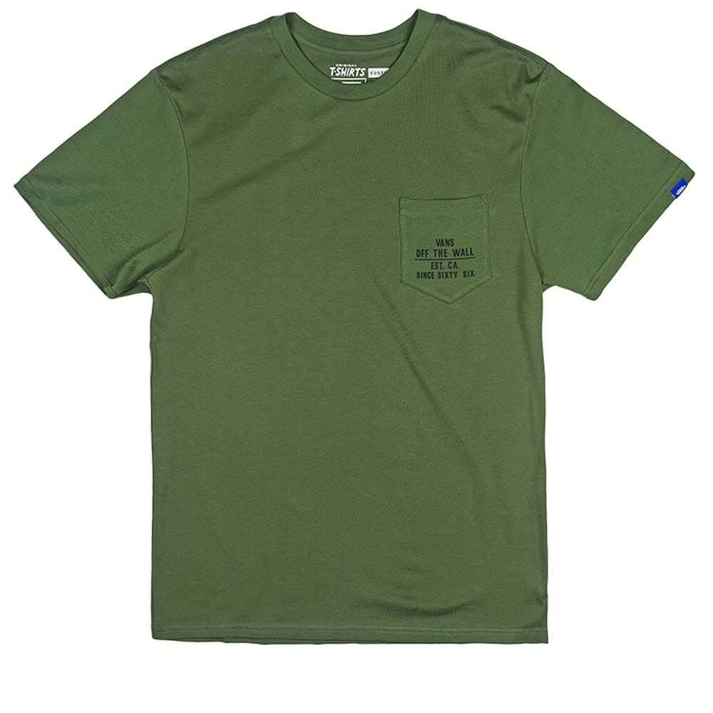 Vans Vans Fixed Pocket T-shirt - Rifle Green