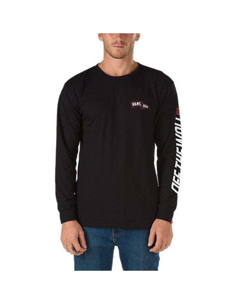 Vans Vans Insignia Longsleeve T-shirt - Black (X-Large)