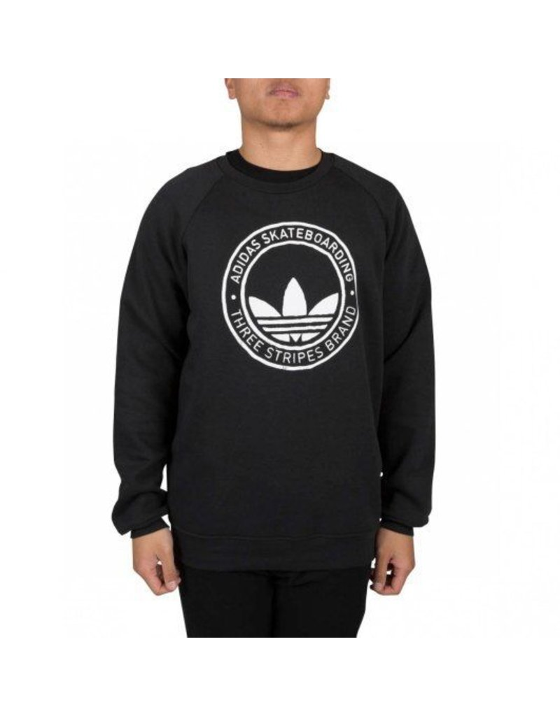 Adidas Adidas Pitted Crew - Black (X-Large)