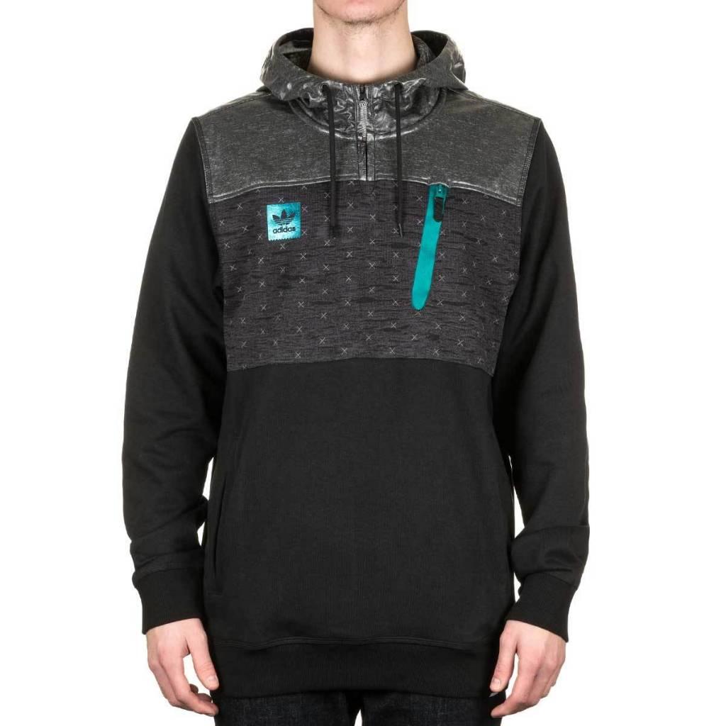 Adidas Adidas Adv Reflex Hoodie - Black (Large)
