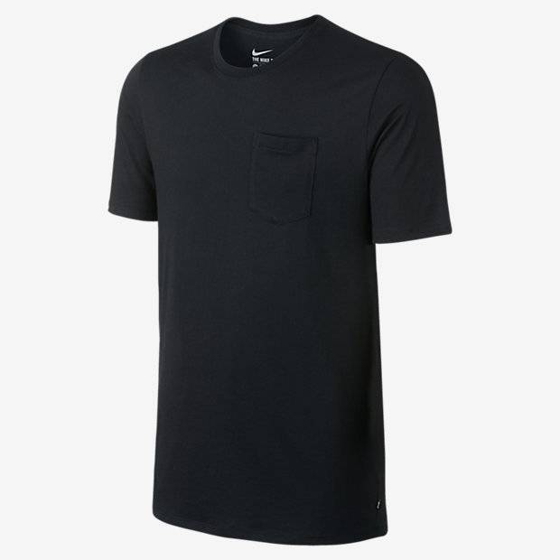 Nike SB Nike sb Dri-Fit Solid Pocket T-shirt -Black (size Medium)