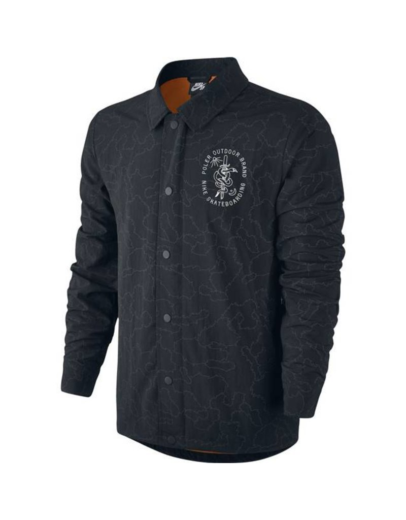 Nike SB Nike sb x Poler Coaches Jacket - Black
