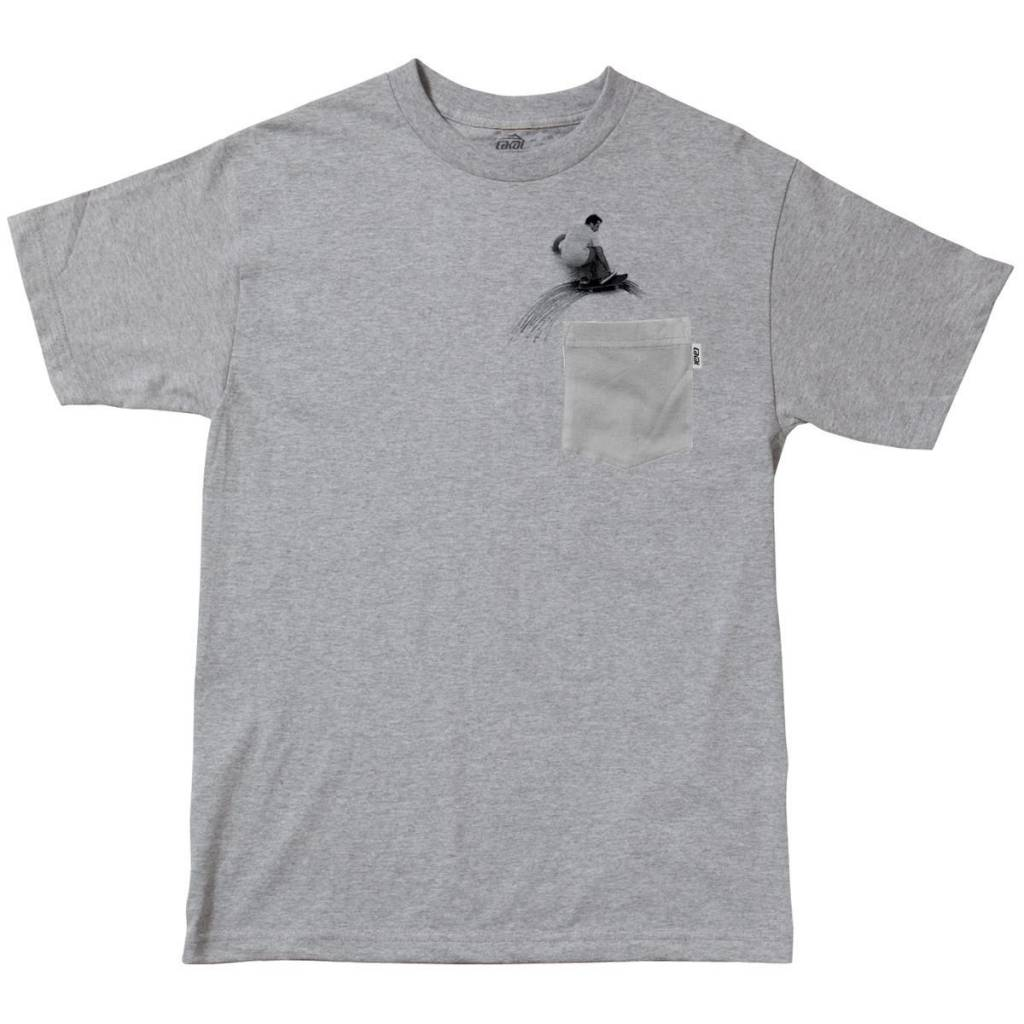 Lakai Lakai Carroll Wallride Pocket T-shirt - Grey
