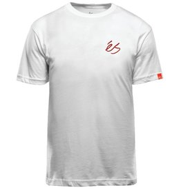 éS èS Script T-shirt - White (Small)