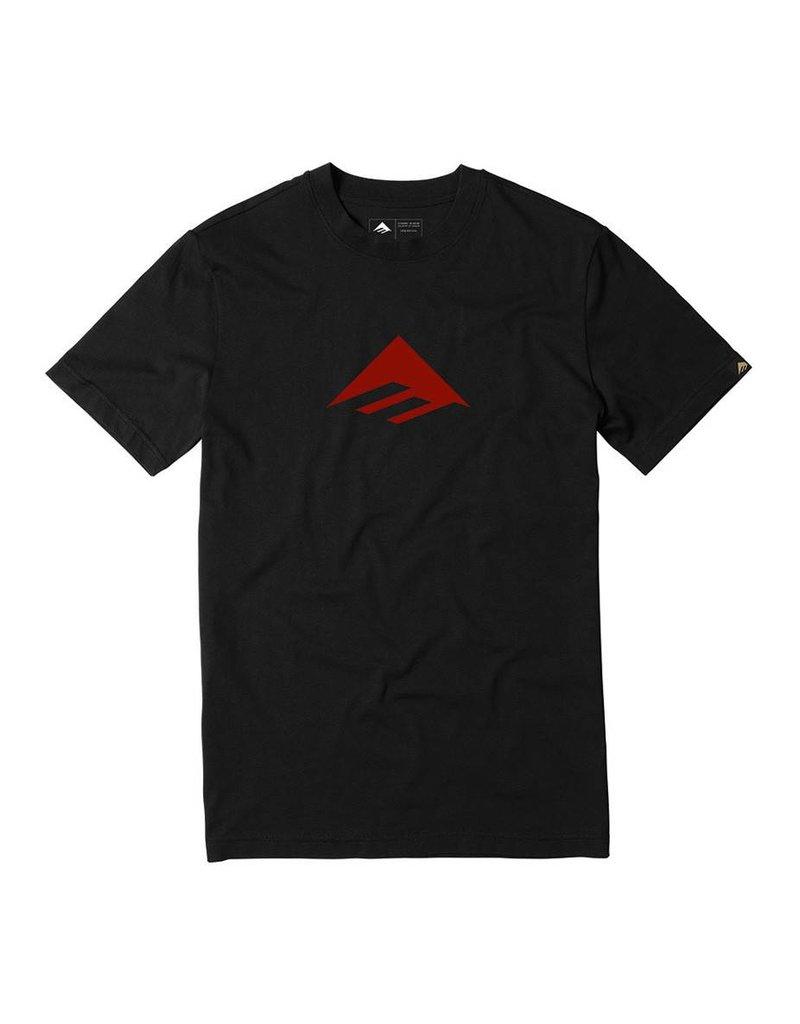 Emerica Emerica Triangle 7.1 T-shirt - Black/Red  (Medium)