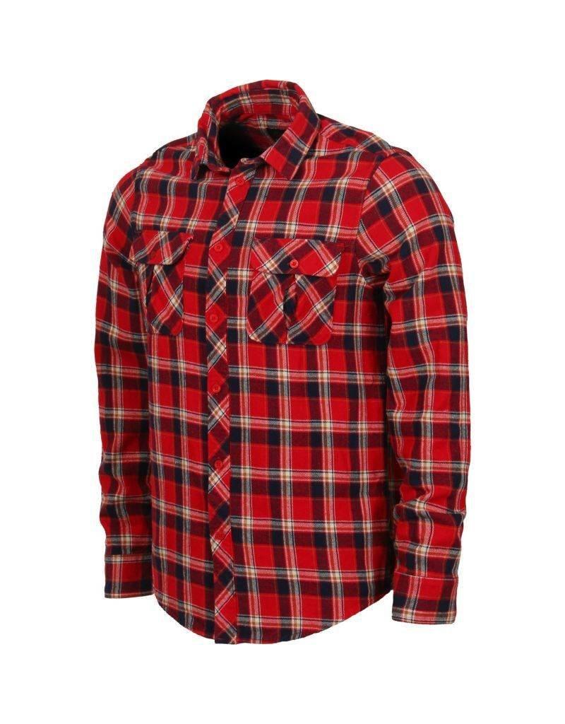 Emerica Emerica Hard Luck LS Flannel - Red (Medium)