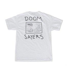 Doom Sayers Sayers Snake Shake Pocket T-shirt - White (X-Large)