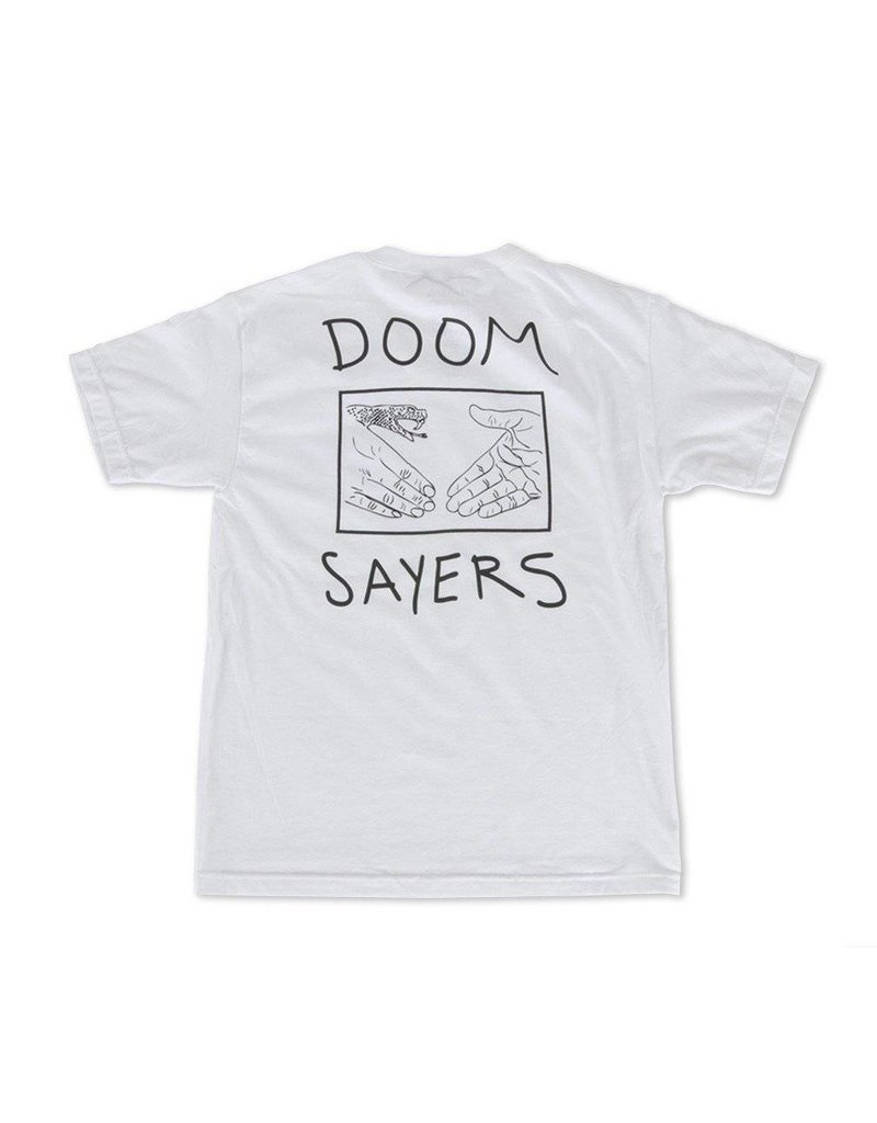 Doom Sayers Sayers Snake Shake Pocket T-shirt - White (X-Large)