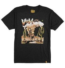 Vol 4 Vol 4 Coyote on Peyote T-shirt - Black (Large)