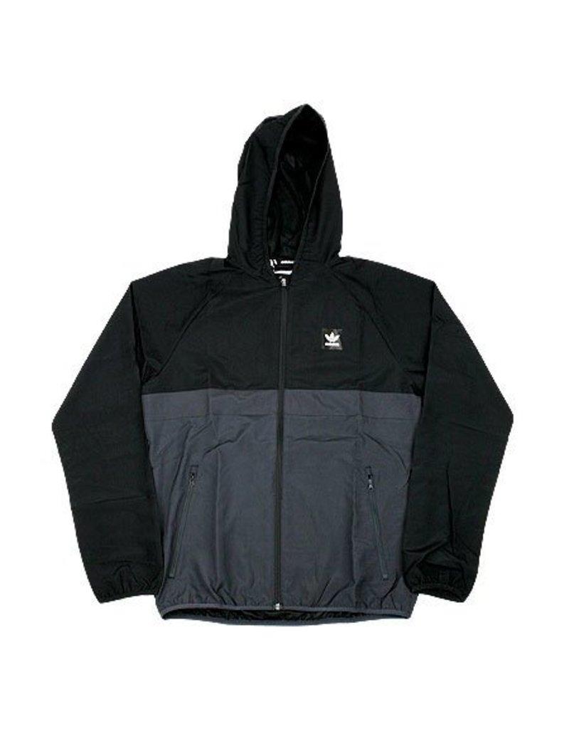 Adidas Adidas BB Wind Jacket - Black/Carbon (Large)