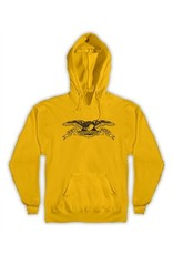 Anti-Hero Anti-Hero Basic Eagle Pullover Hoodie - Yellow (Medium)