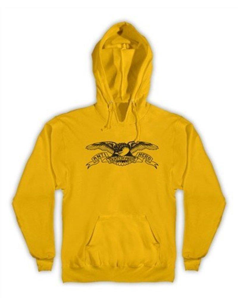 Anti-Hero Anti-Hero Basic Eagle Pullover Hoodie - Yellow (Medium)