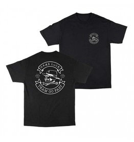 Hard Luck mfg Hard Luck Great Times T-shirt - Black (Small)