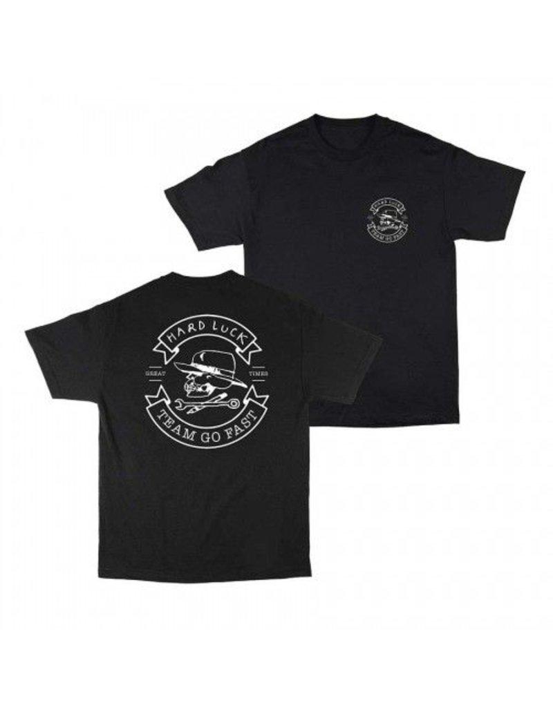 Hard Luck mfg Hard Luck Great Times T-shirt - Black (Small)