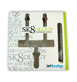 Sk8ology Sk8ology skateoard Wall display mount w/ drill bit