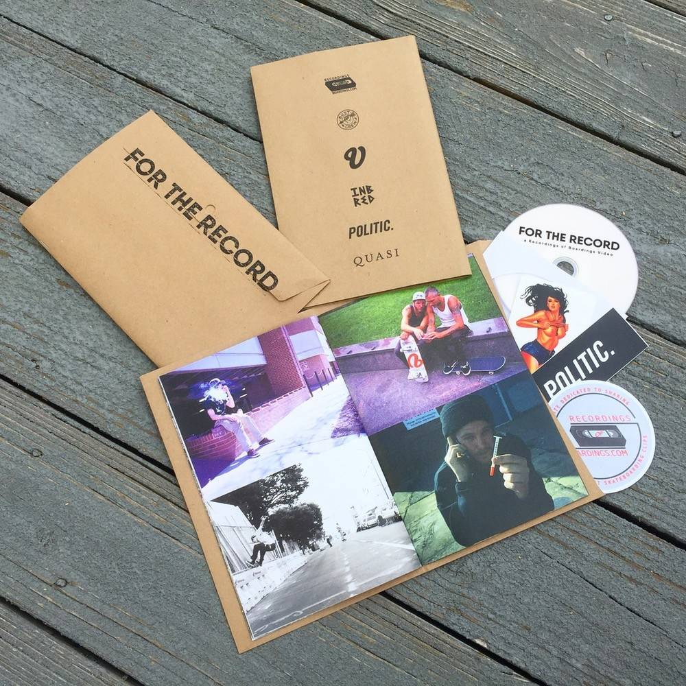 For the Record - DVD/Zine (by Clem Martin)