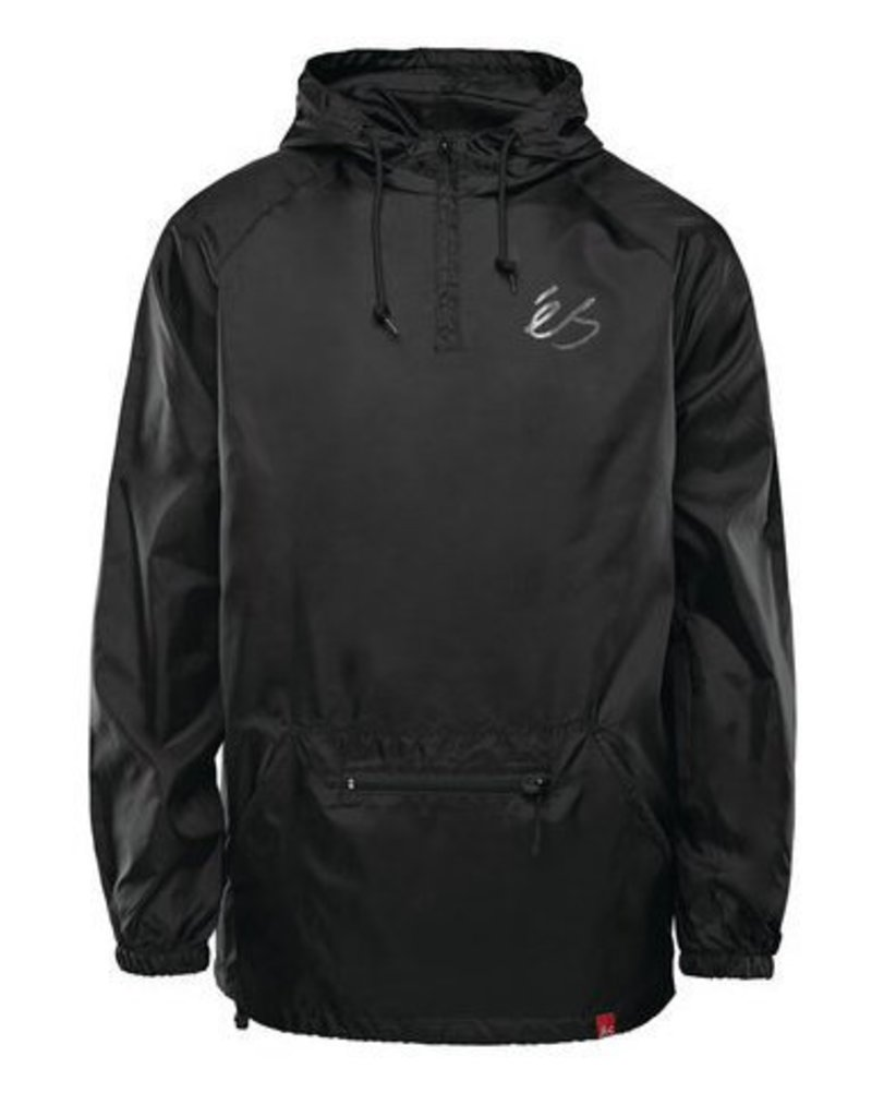 éS éS Packable Anorak Jacket - Black  (size Large)