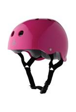 Triple 8 Triple 8 Brainsaver Helmet - PInk Gloss