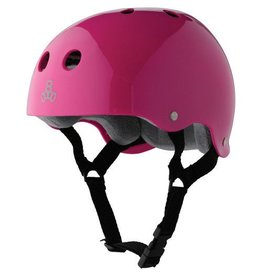 Triple 8 Triple 8 Brainsaver Helmet - PInk Gloss