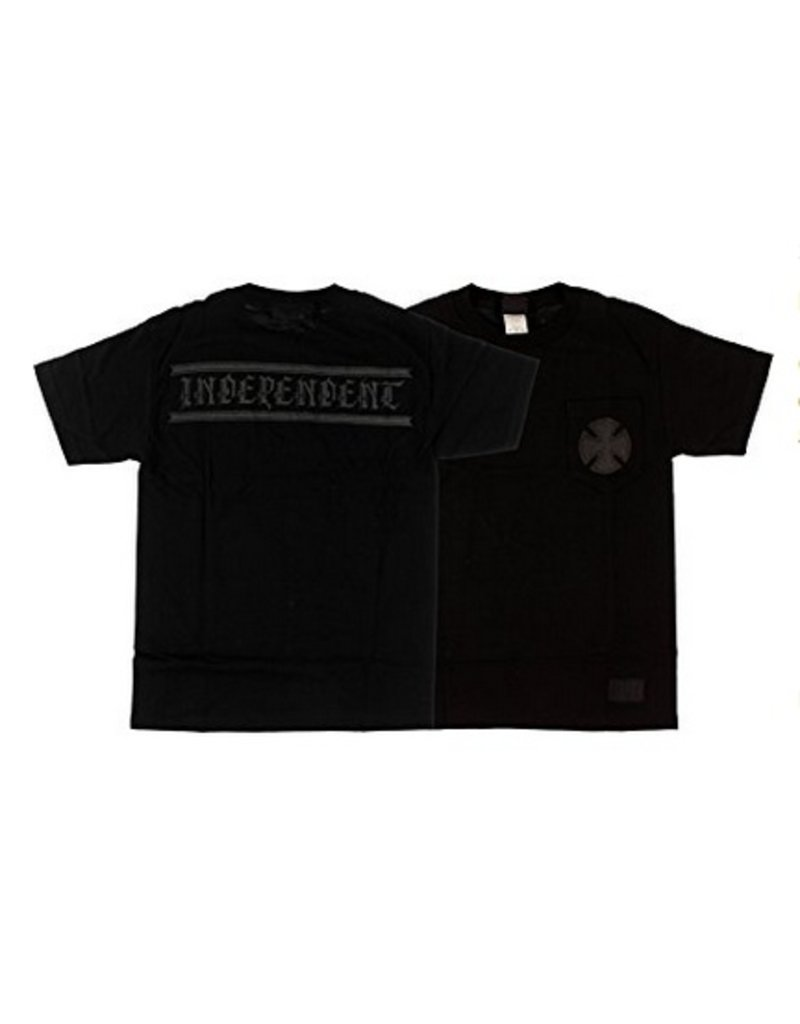Independent Independent AVE Cross Reflective T-shirt - Black (Small)