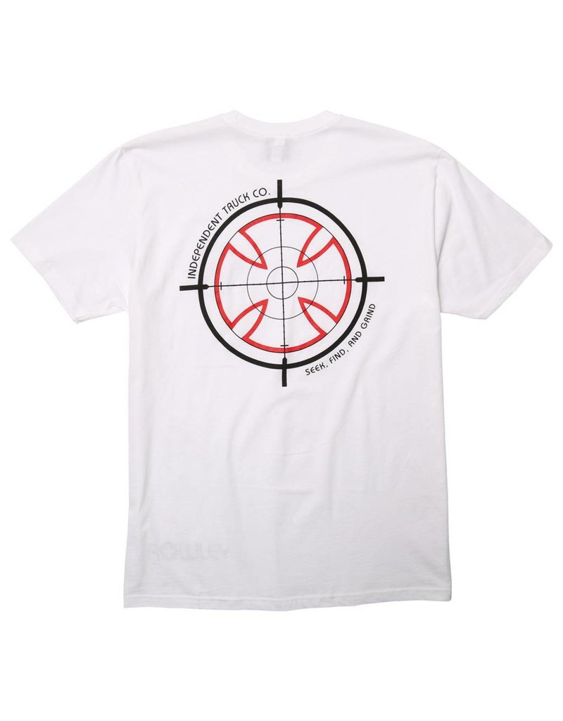 Independent Independent Rowley Crosshair T-shirt - White (XX-Large)