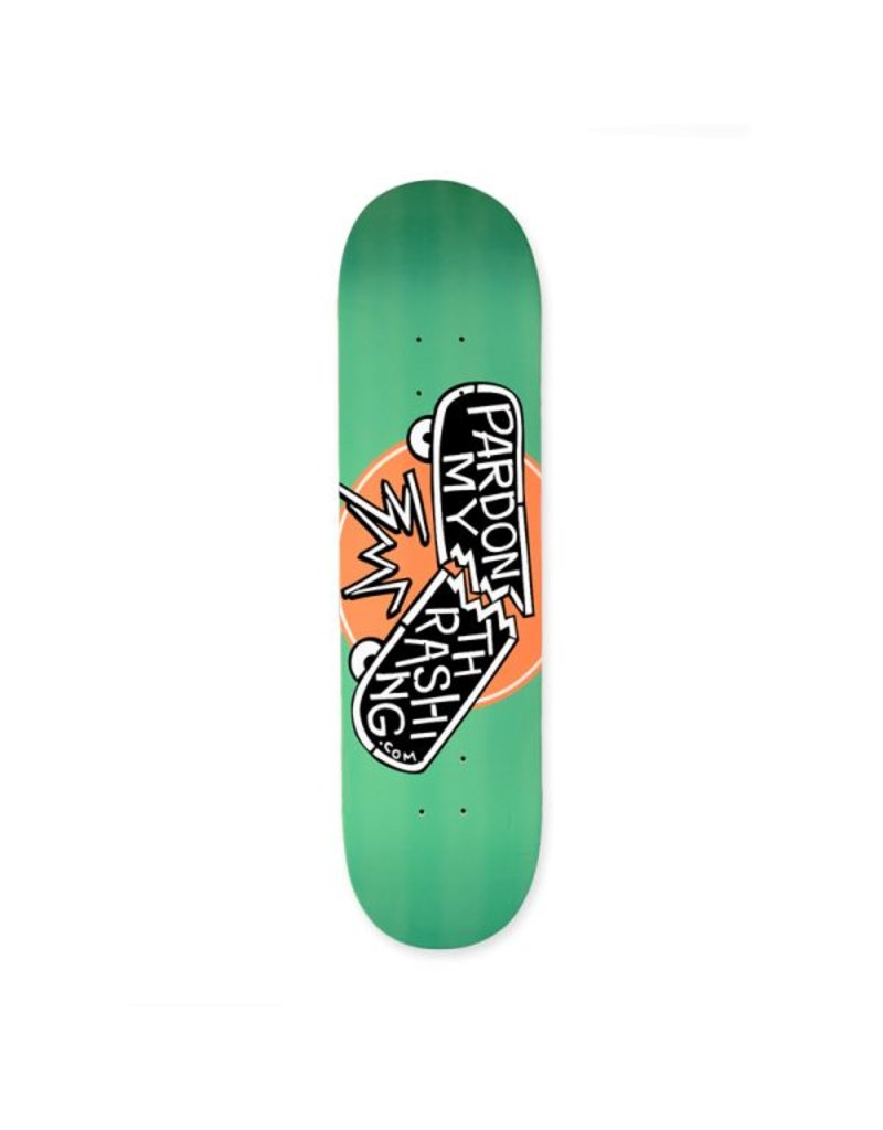 Pardon My Thrashing Pardon My Thrashing Logo Deck - 8.75