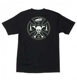 Independent Independent Time is Short T-shirt - Black (size Large)