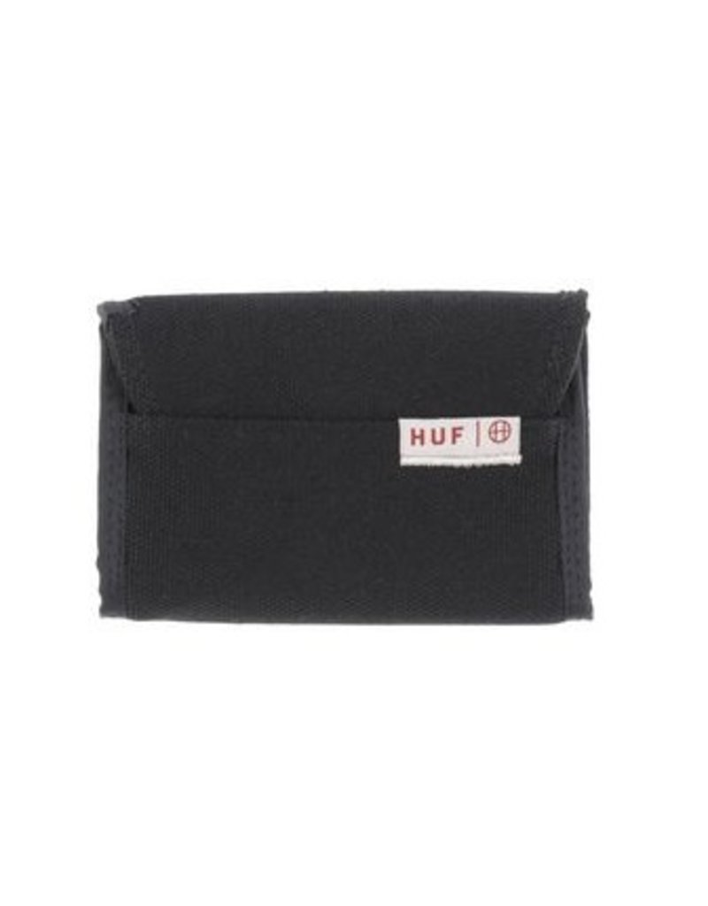 Huf Worldwide Huf Trifold Wallet - Black