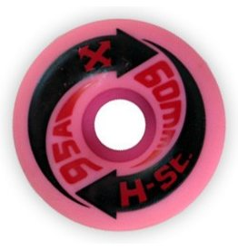 H-Street H-Street Arrows 60mm 95a Pink Wheels (Set of 4)