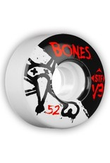 Bones Wheels Bones STF v3 52mm Wheels (set of 4)