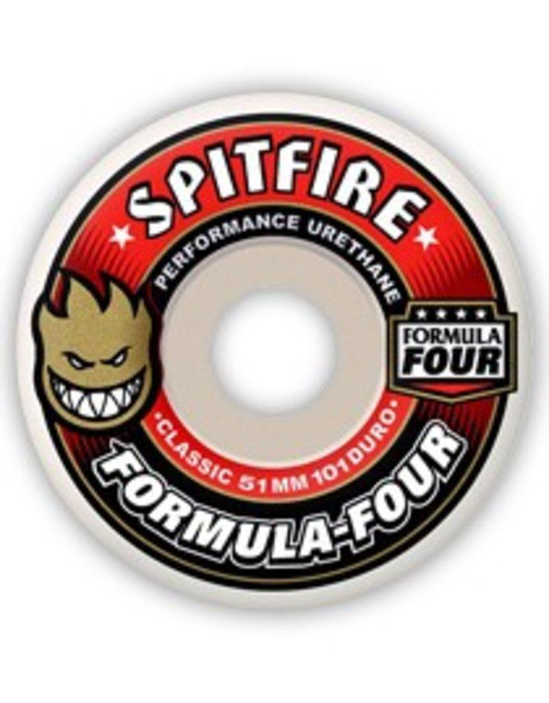 Spitfire Spitfire Formula Four Classic  51mm 101d wheels (set of 4)
