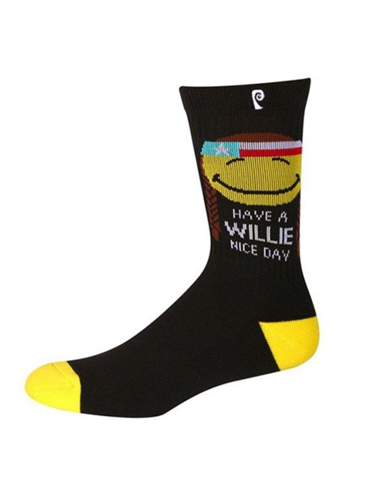 Psockadelic Psockadelic Willie Nice Day Black/Yellow Socks