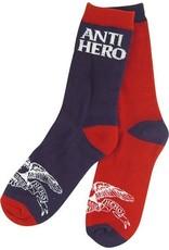 Anti-Hero Anti-Hero Eagle Blackhero Navy/Red Socks