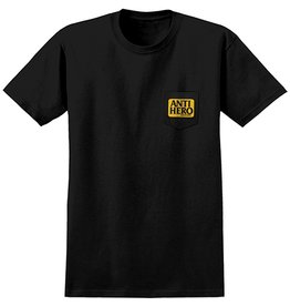 Anti-Hero Anti-Hero Reserve Pocket T-shirt - Black/Yellow