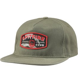 Spitfire Spitfire Burn Club Hat - Army Green