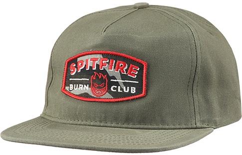 Spitfire Spitfire Burn Club Hat - Army Green