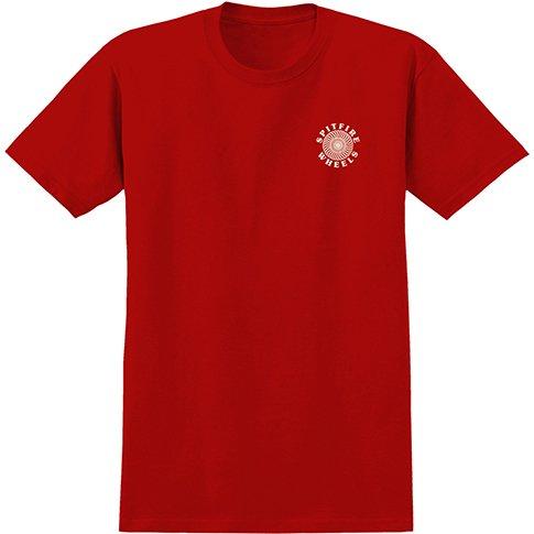 Spitfire Spitfire OG Classic  T-shirt - Red/Cream (X-Large)