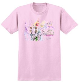 Krooked Krooked Tit for Tat T-shirt - Pink (Large)