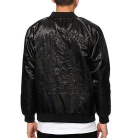 Huf Worldwide Huf x Thrasher Satin Jacket - Black (X-Large)