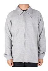 Huf Worldwide Huf Fleece Coaches Jacket - Grey Heather