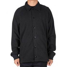 Huf Worldwide Huf Fleece Coaches Jacket - Black