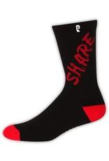 Psockadelic Psockadelic Share Black/Red Socks