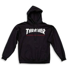 Thrasher Mag Thrasher Two Tone Skate Mag Pullover Hoodie - Black (Large)
