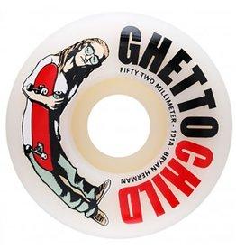 Ghetto Child Ghetto Child Herman OG Logo 52mm 101a Wheels (set of 4)