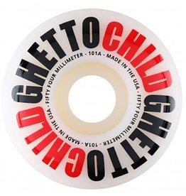 Ghetto Child Ghetto Child Team OG Logo 54mm 101a Wheels (set of 4)
