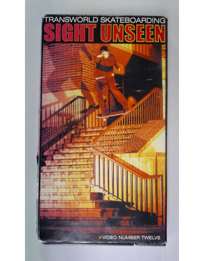 TWS  Sight Unseen #12 (2001)  VHS - USED
